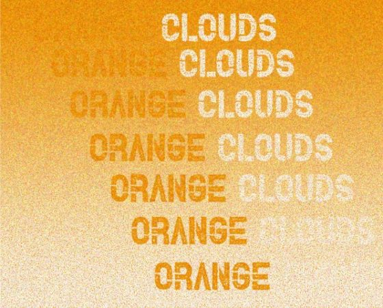 Orange Clouds