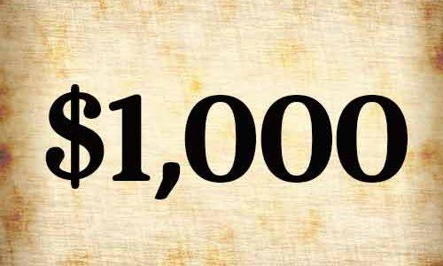 $1000 Membership